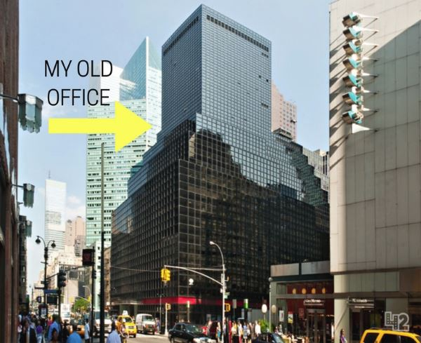 Photo of Andrew's old office in Manhattan