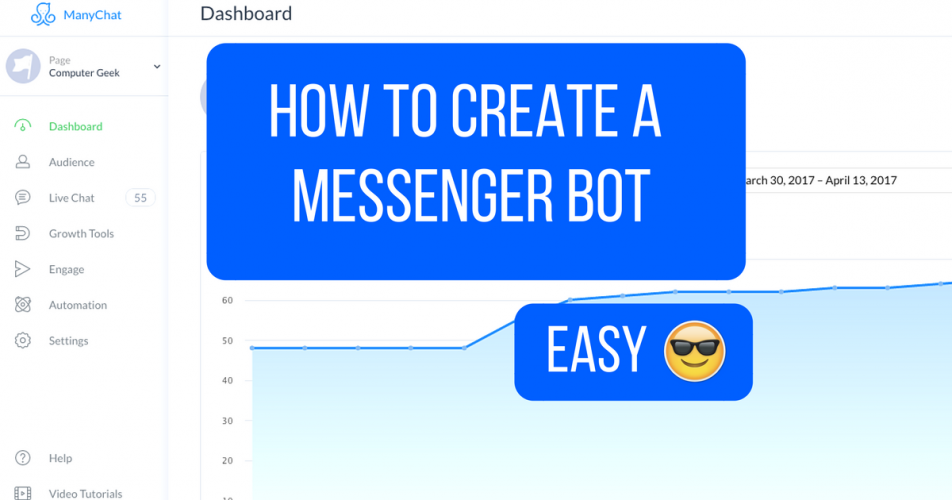 How To Create A Chatbot on Facebook Messenger with NO CODING