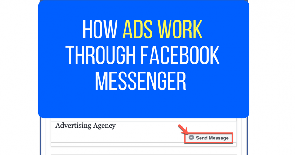 How Ads Work Via Facebook Messenger Chatbots
