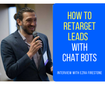 271How To Successfully Use Messenger Chat Bots To Retarget Leads and Make More Sales (Part 2 or 5)