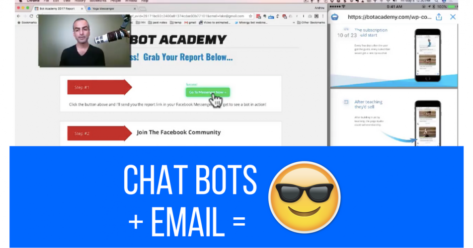 How Chatbot Marketing and Email Marketing Can Work Together