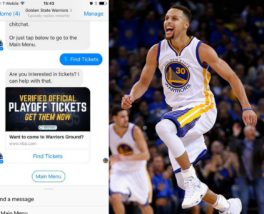 383Anastasia Green created the Golden State Warriors Chat Bot!
