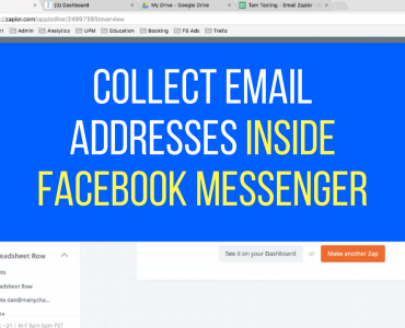 1348How To Collect Email Addresses Within Facebook Messenger