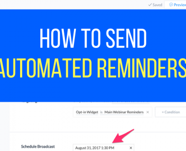 1416How To Send Automated Reminders Through Facebook Messenger