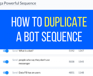 1274How to Duplicate A Bot Sequence In 57 Seconds