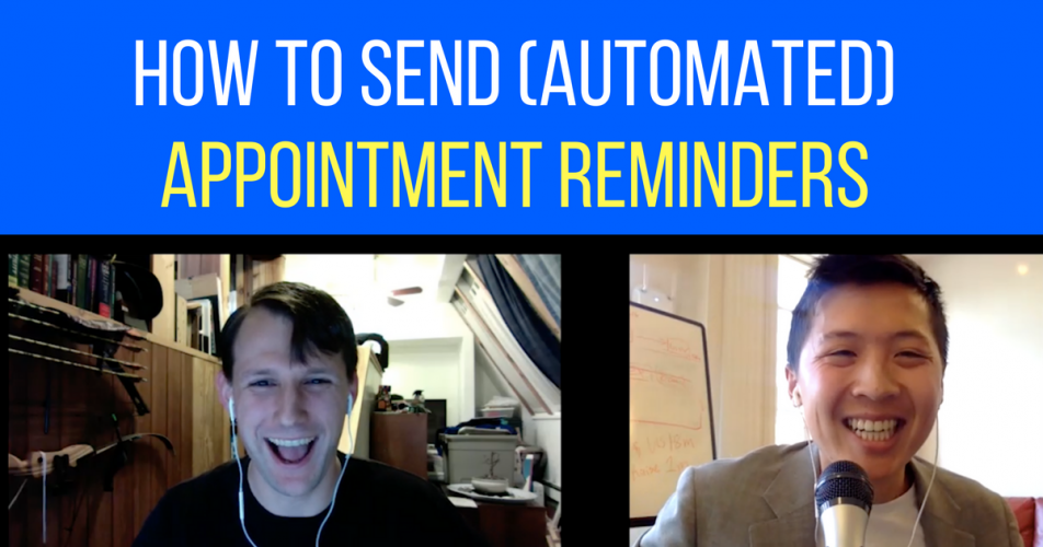 How to Send Appointment Reminders Through Facebook Messenger