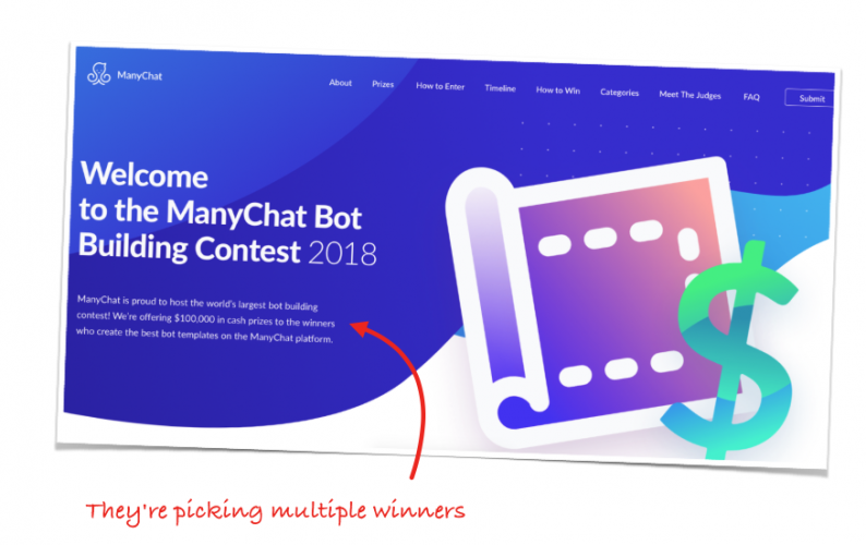 How to win up to $10,000 by building a chatbot